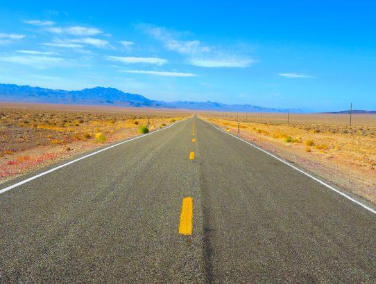 Auf der Route 66 zum Grand Canyon.