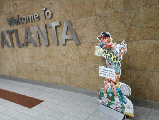 Auf nach Atlanta